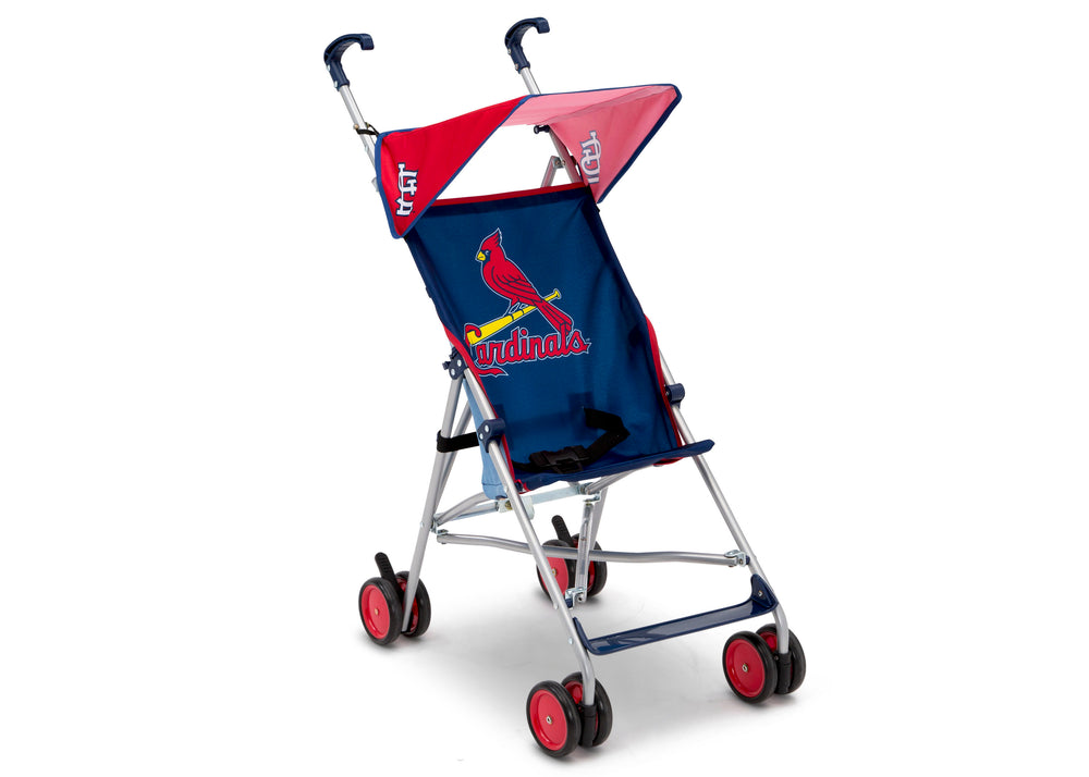 Delta Children Cardinal (1234) MLB Umbrella Stroller (11041) Right View, a1a