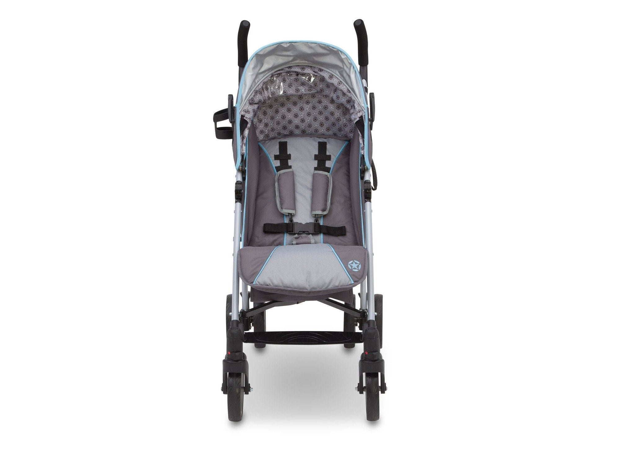 Delta Children Star Light (095) J is for Jeep Brand Atlas AL Sport Stroller Front View a3a