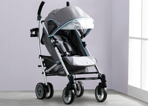 Delta Children Star Light (095) J is for Jeep Brand Atlas AL Sport Stroller, Hangtag View