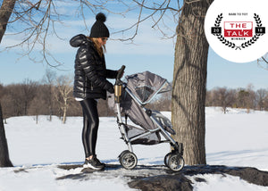 Delta Children Star Light (095) J is for Jeep Brand Atlas AL Sport Stroller, Outdoor Lifestyle View
