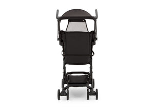 Jeep Black with Orange (2183) Clutch Plus Travel Stroller with Reclining Seat, Storage Basket Rear View