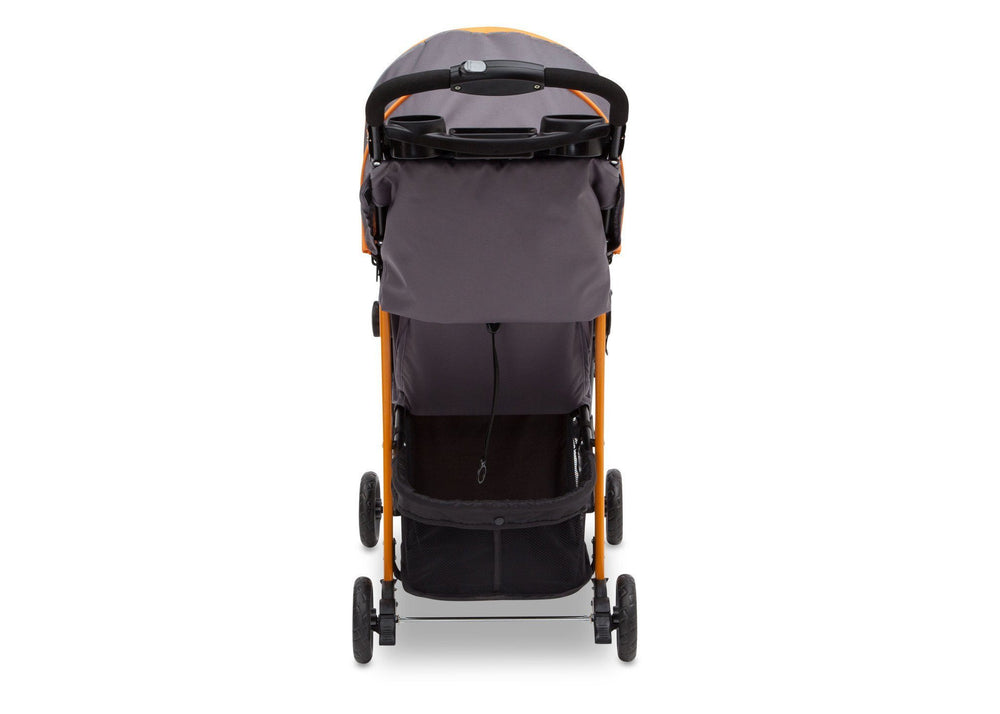 Delta Children Lunar (093) J is for Jeep Brand Metro Stroller Back View a4a