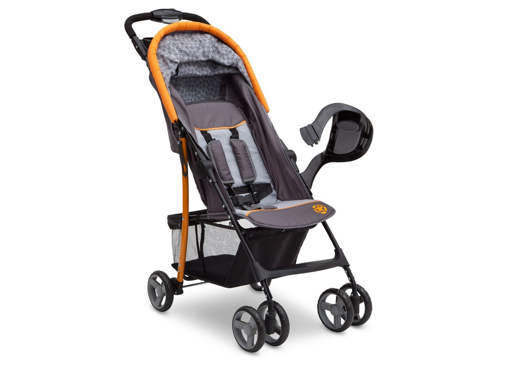 Delta Children Lunar J is for Jeep Brand Metro Stroller Right Side View a2a