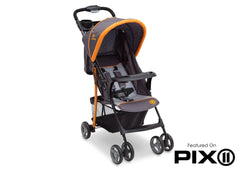 Delta Children Lunar (093) J is for Jeep Brand Metro Stroller, Folded a6a