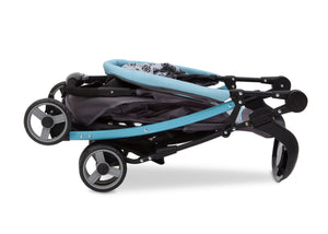 Delta Children Satellite (094) J is for Jeep Brand Metro Stroller, Folded b5b