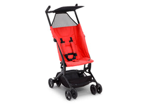 Delta Children Ultimate Fold N Go Compact Travel Stroller Red (2023), Right Side View d3d