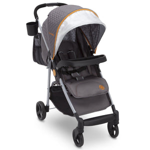 Delta Children J is for Jeep Brand Metro Plus Stroller, Galaxy 850 with carryall and cup holder Right Side View, a1a