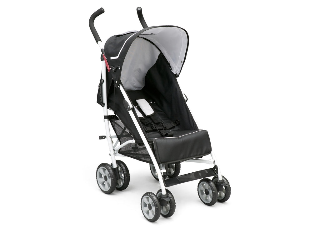 Delta Children Urban Street Black (019) LX Stroller, Right Side View a1a