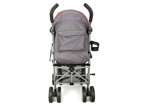 Delta Children Grey & Red (026) LX Stroller Back View