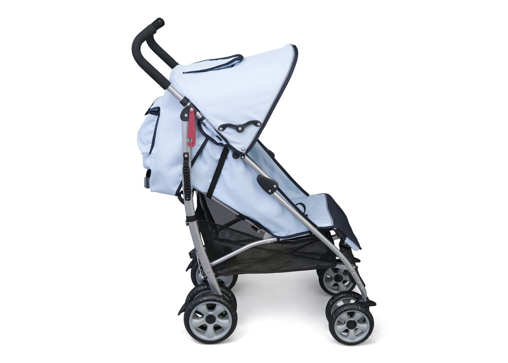 Delta Children Light Blue (413) LX Stroller Side View 2 c2c