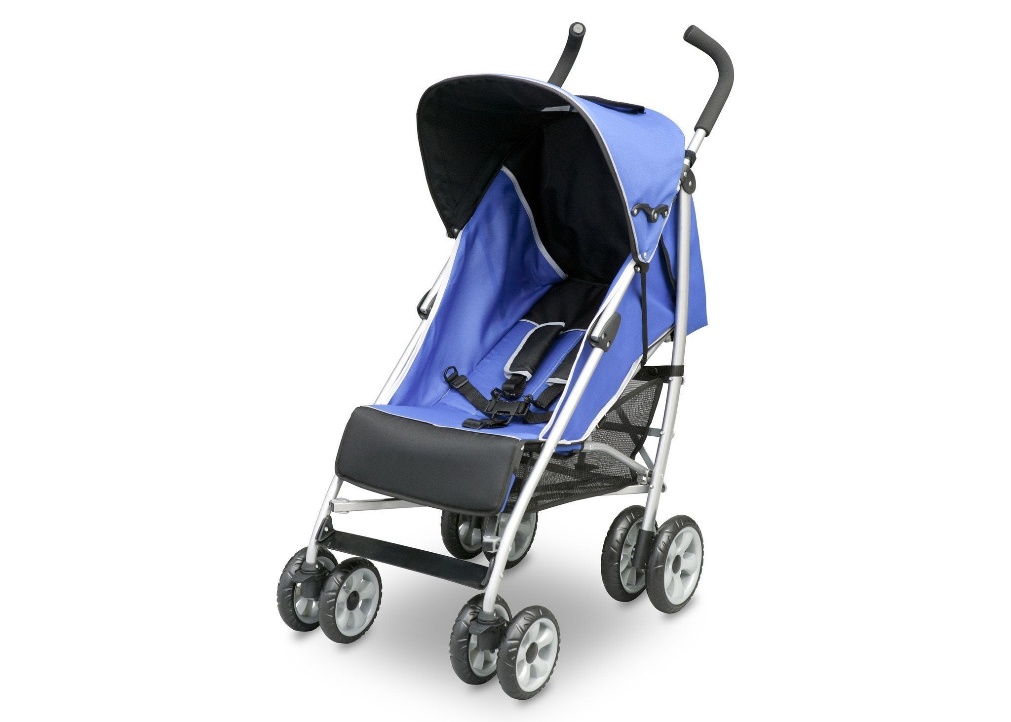 Delta Children Urban Street Blue (423) LX Stroller Left Side View d2d