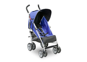 Delta Children Urban Street Blue (423) LX Stroller, Right Side View d1d