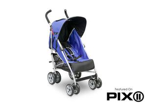 Delta Children Urban Street Blue (423) LX Stroller Left Side View d3d