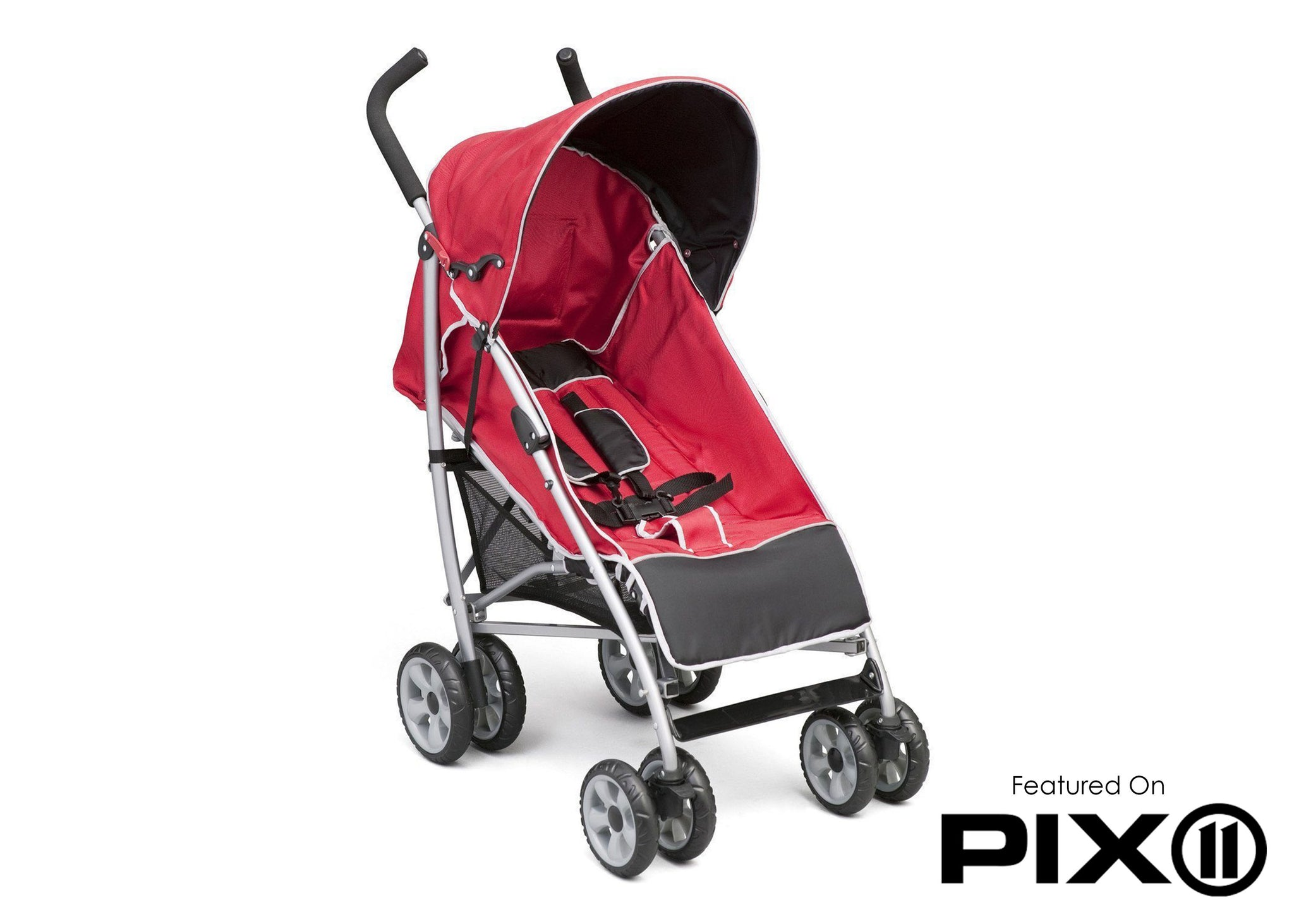 Delta Children Urban Street Red (609) LX Stroller Side Left Side View d3d