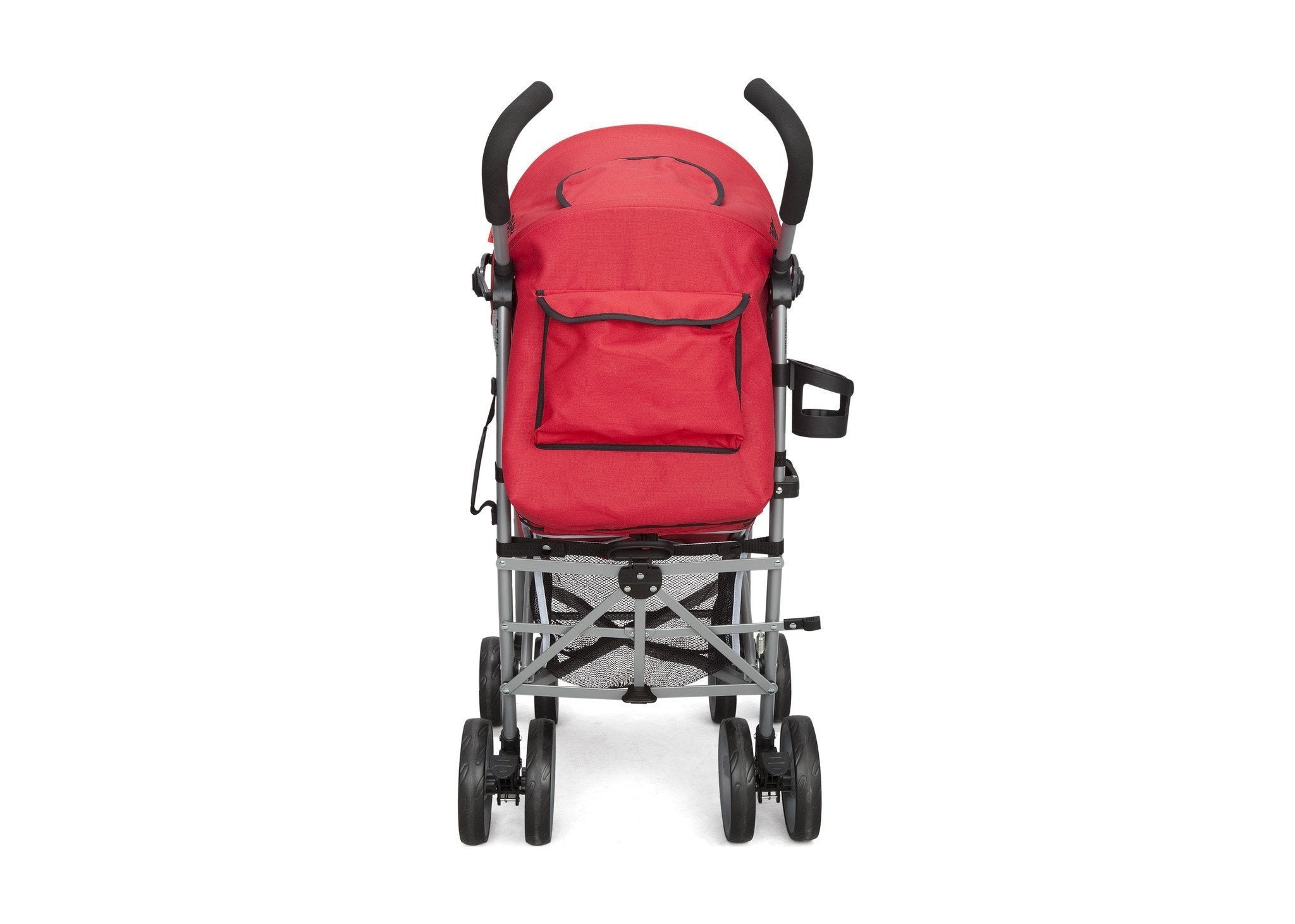 Delta Children Urban Street Red (609) LX Stroller Back View