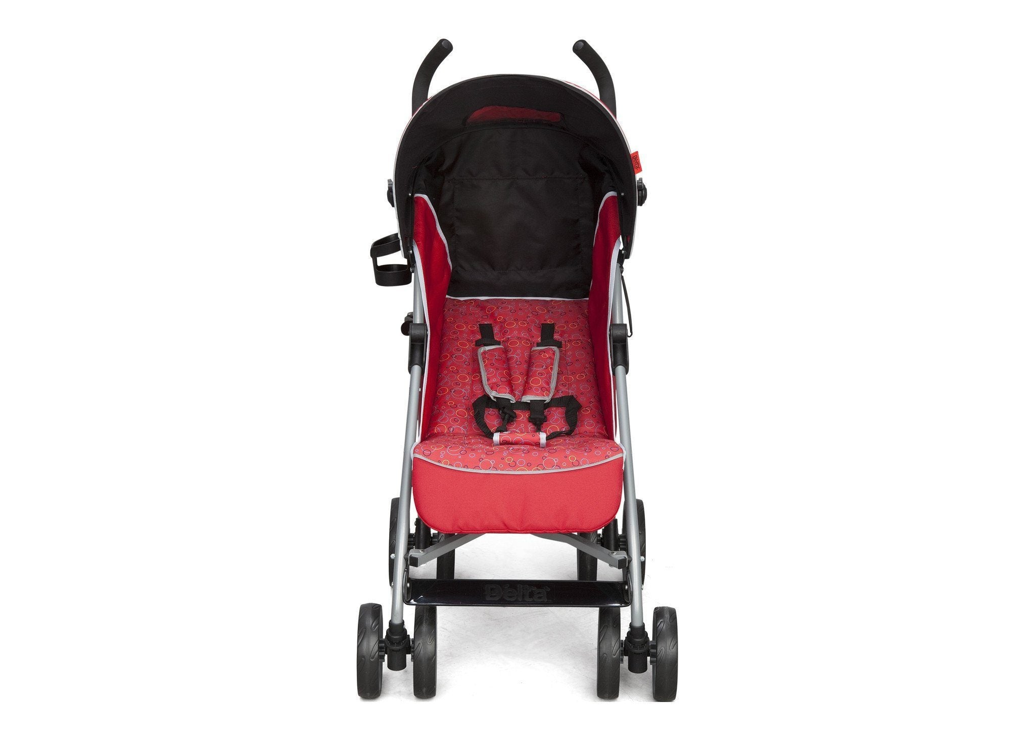 Delta Children Red (629) LX Stroller Side Front View e3e