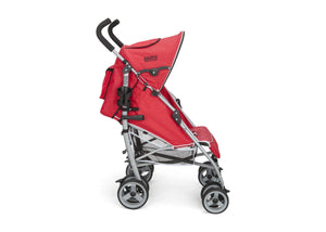 Delta Children Red (629) LX Stroller Full Right Side View f2f