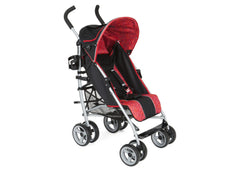 Delta Children Urban Street, Black & Red Circular Motion (983)LX Stroller Right Side View g1g
