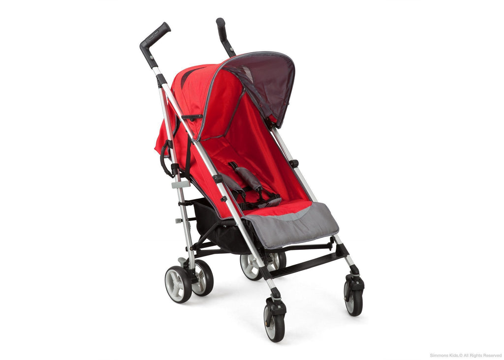 Simmons Kids® Vigor Red (623) Comfort Tech Tour LX Stroller, Right View c1c