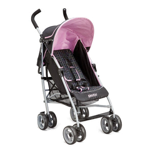 Delta Children Pink (019) Ultimate Convenience Stroller, Right Side View a1a