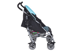 Delta Children Morning Mist (462) Ultimate Convenience Stroller, Full Side View b2b
