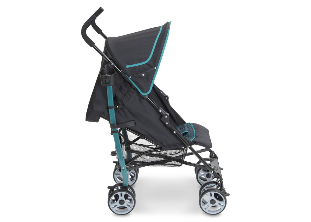 Delta Children Waterfall (468) Max Stroller Full Right Side View a2a