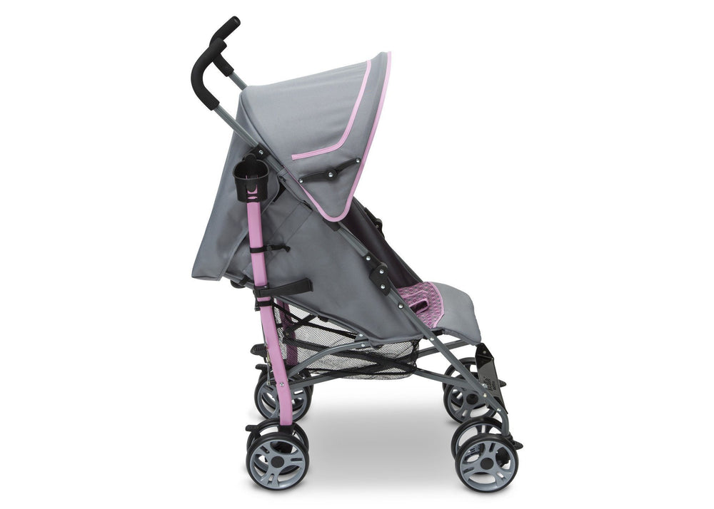 Delta Children Lilly (698) Max Stroller Full Right Side View b2b
