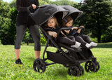 Delta Children Midnight (2013) Destination Side x Side Double Ultralight Stroller (11508), Lifestyle 2, a0a