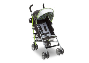 J is for Jeep Brand Camouflage Green (350) Scout AL Sport Stroller , Right View, a1a