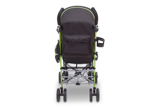 J is for Jeep Brand Camouflage Green (350) Scout AL Sport Stroller, Back View, a3a
