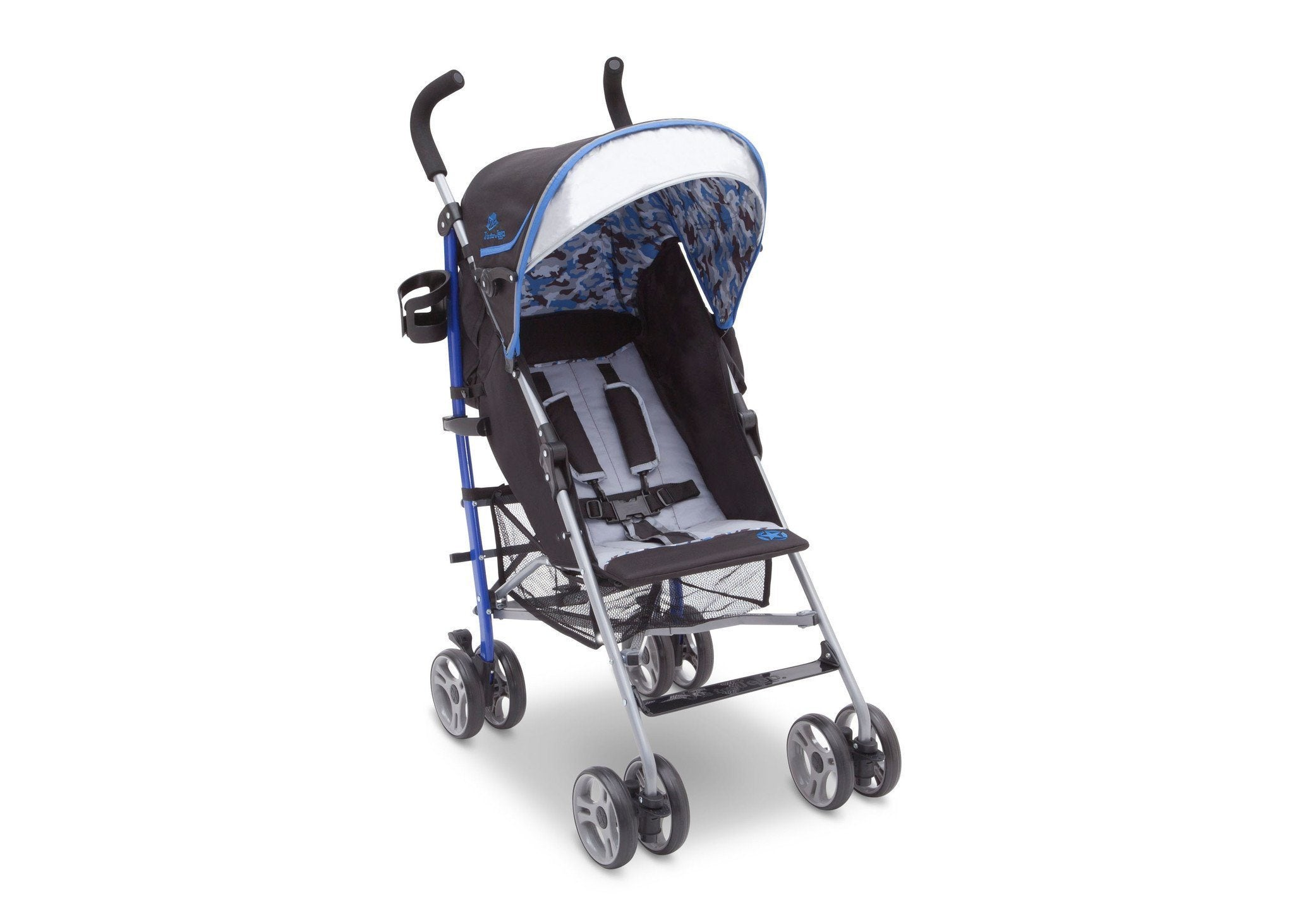 J is for Jeep Brand Camouflage Royal (433) Scout AL Sport Stroller, Right View, b1b