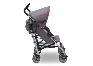 J is for Jeep Brand Trekking Berry (957) Scout AL Sport Stroller, Side View, c2c