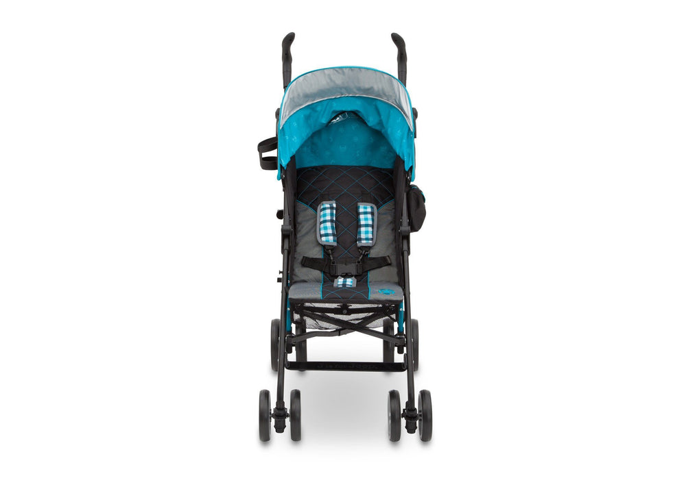 Delta Children J is for Jeep Brand Scout Stroller Front View