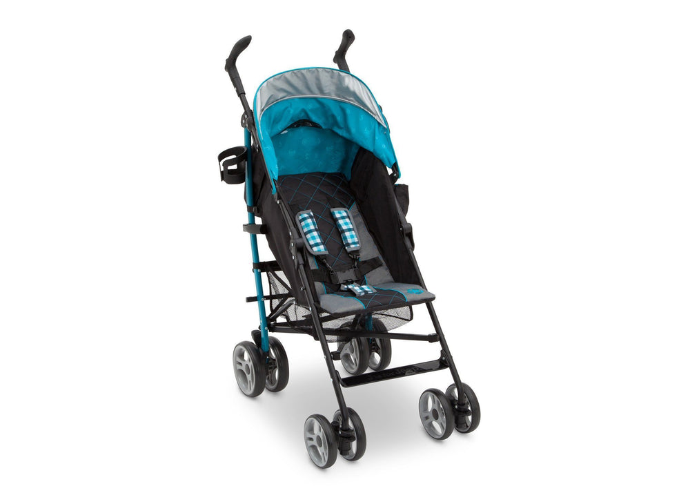 Delta Children J is for Jeep Brand Scout Stroller Right Side View