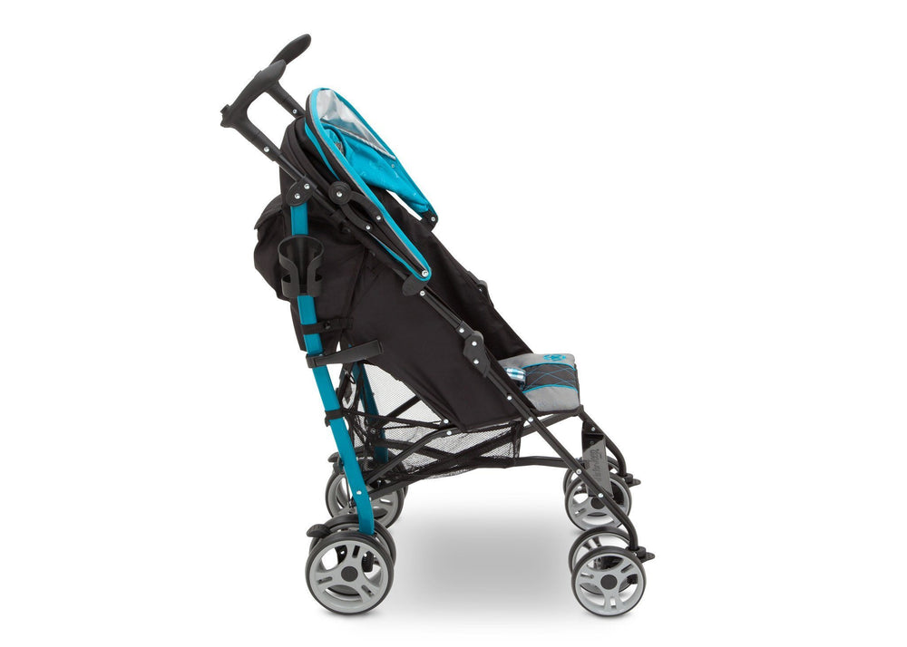 Delta Children J is for Jeep Brand Scout Stroller Full Right Side View