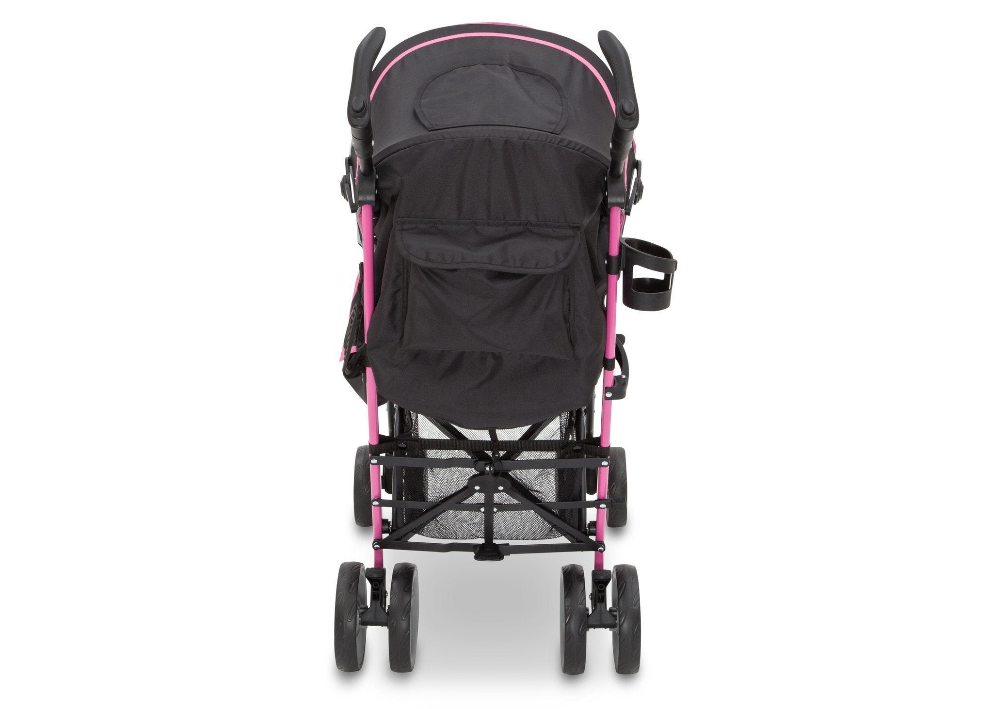Jeep® Scout Stroller Sag Berry Patch (659), rear wheels feature easy step breaks