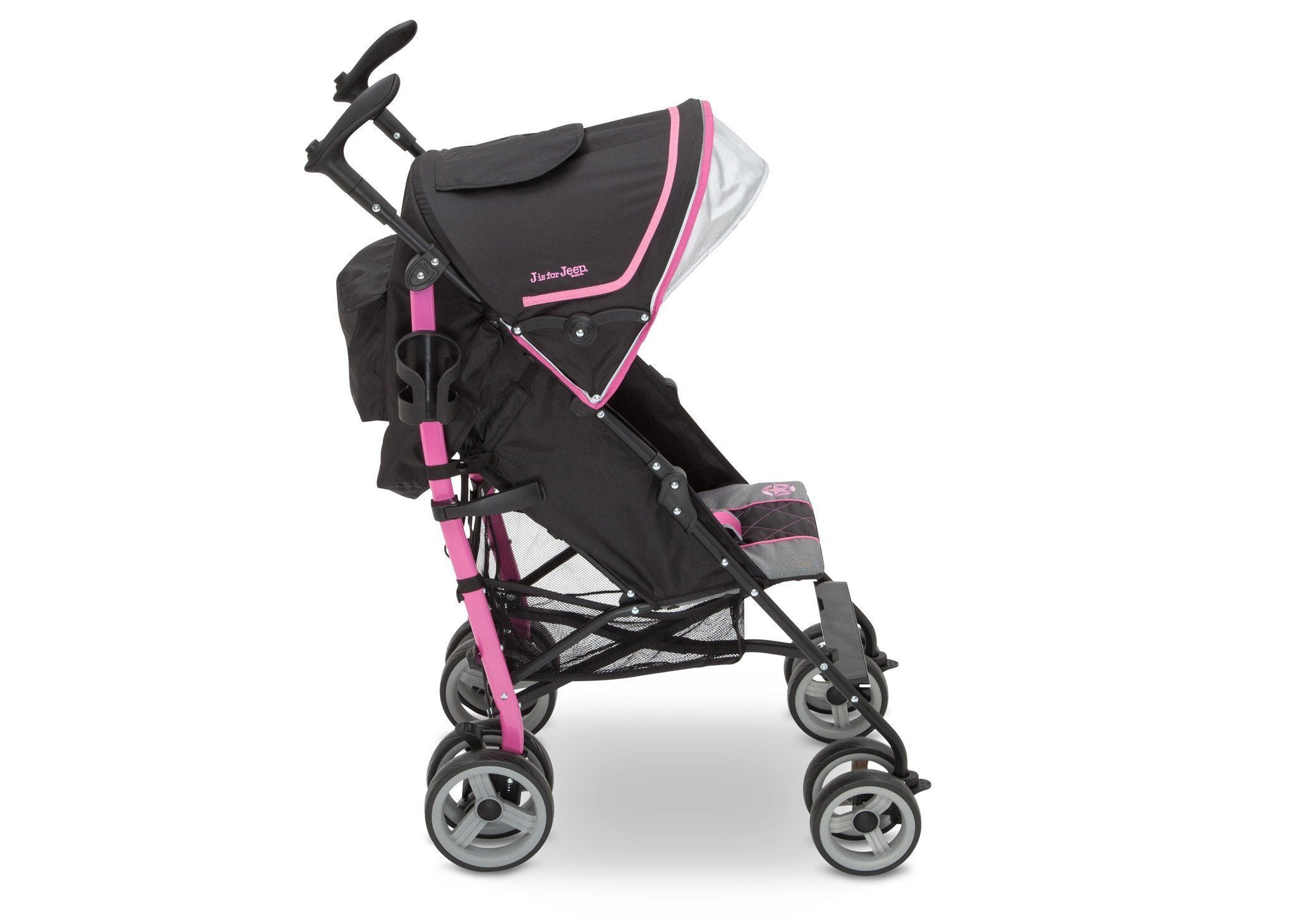 Jeep® Scout Stroller Sag Berry Patch (659), Side View