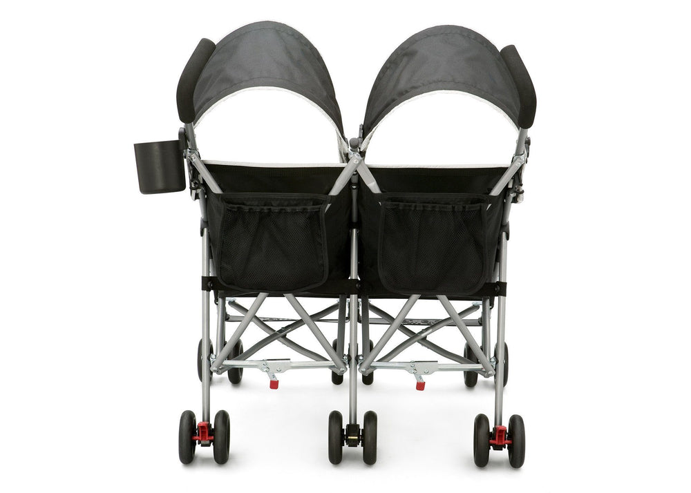 Delta Children DX Side x Side Stroller Back View a3a