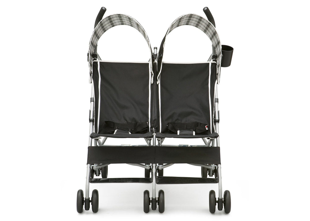Delta Children DX Side x Side Stroller Front View a2a