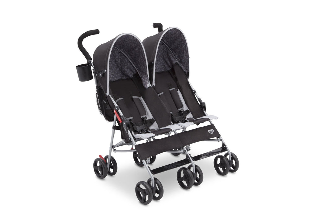 Delta Children Gateway (2296) LX Side by Side Stroller, Right View h1h