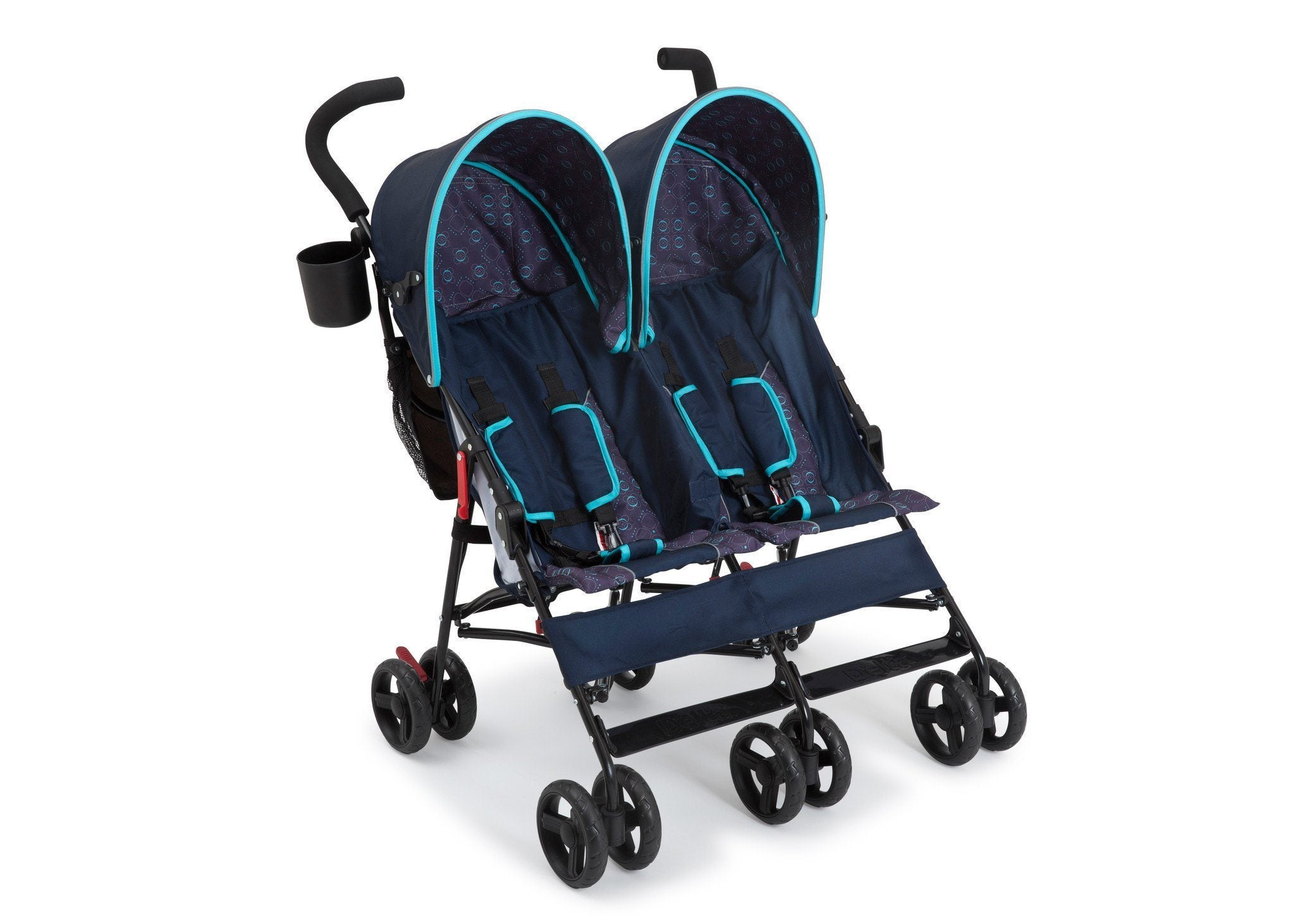 Delta Children Night Sky (406) LX Side by Side Stroller d1d