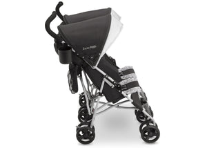 Jeep Brand Scout Double Stroller by Delta Children, Charcoal Galaxy (2271), with parent cup holder