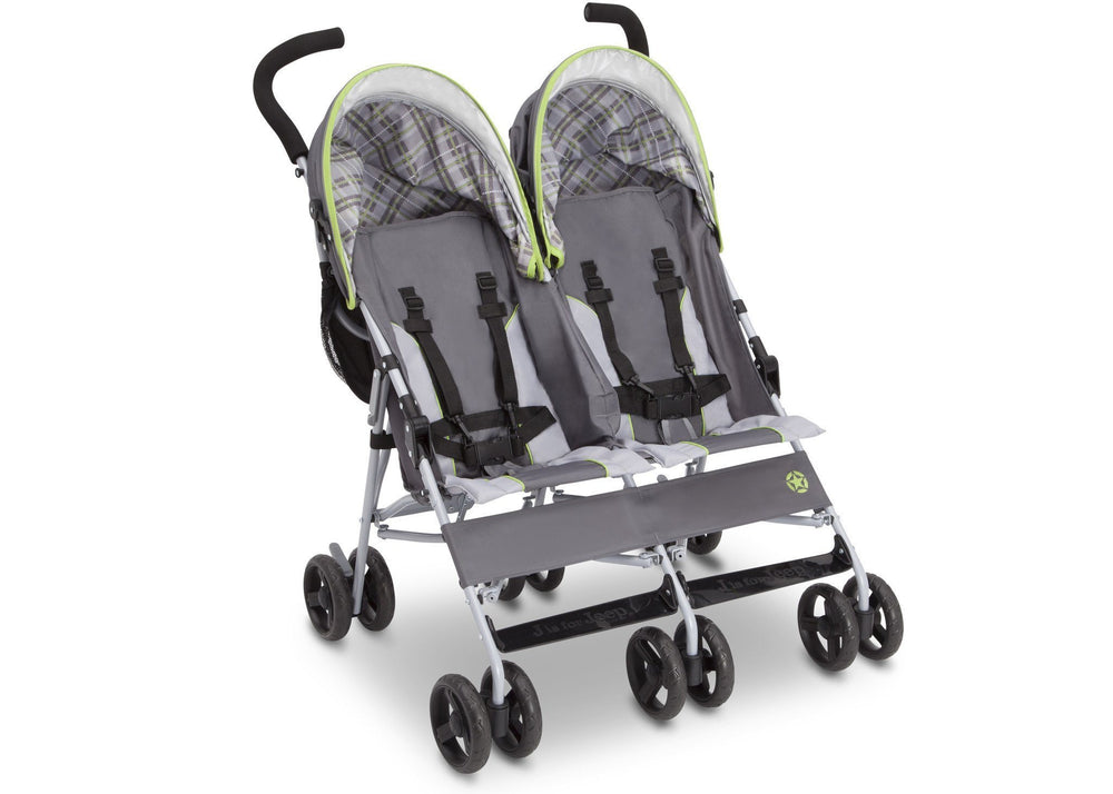 J is for Jeep® Brand Scout Double Stroller