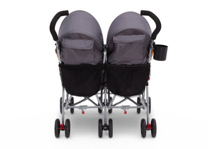 LX Pkus Side x Side Double Stroller Maze (817), Back View