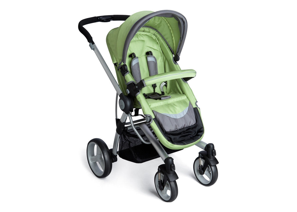 Simmons Kids Bright Green (320) Tour Buggy Stroller Right View a1a