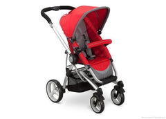 Simmons Kids Red (623) Tour Vantage Stroller, Red Right Side View a1a