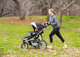 J is for Jeep® Brand Cross-Country All-Terrain Jogging Stroller