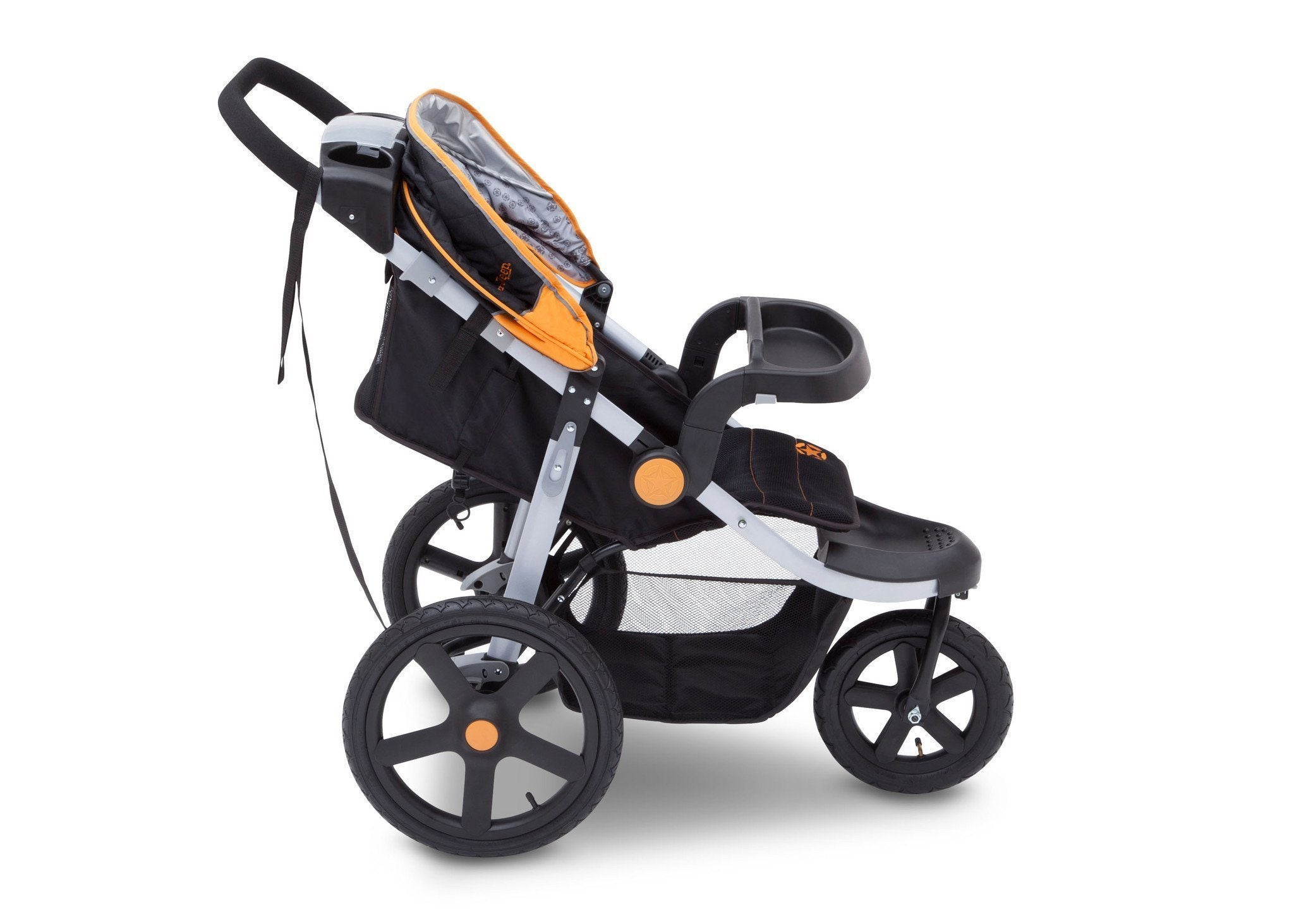 Jeep Adventure All Terrain Jogger Stroller by Delta Children, Galaxy (850), with multi-position reclining seat