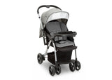 J is for Jeep® Grey Tweed (2001) Unlimited Reversible Handle Stroller (12198), Right Side View, a3a