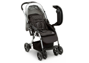 Jeep Unlimited Reversible Handle Stroller by Delta Children, Grey Tweed (2012), Extendable European -Style Canopy